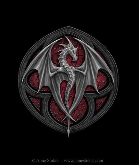 Anne Stokes : Art Gallery (www.annestokes.com) #dragon #tattoos #tattoo