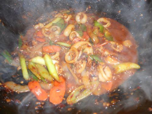 spicy stir-fry squid | In the kitchen | Pinterest
