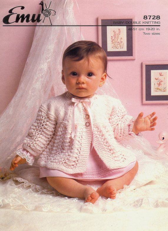 ON SALE Vintage pdf of Baby Knitting Patterns by avintagescot,