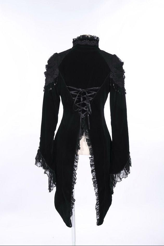 RQ-BL Velvet Royal Tailcoat | Pixieknix