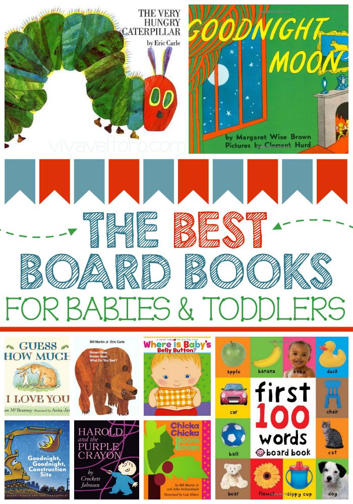 Best Board Books for babies and toddlers.  #4 is one of my faves!