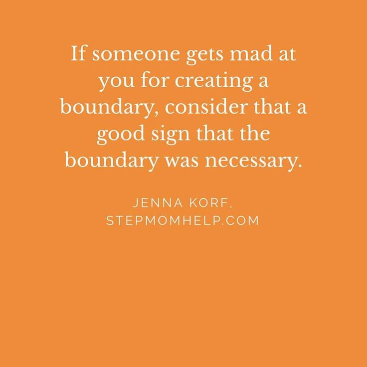 Oh, hell yes. Boundaries are key to peace. Mine have been set and will remain.