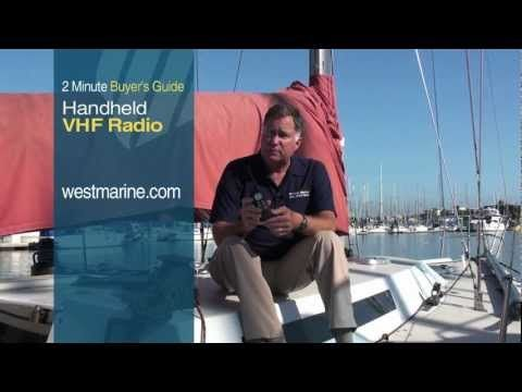 Selecting a VHF Handheld Radio   West Marine