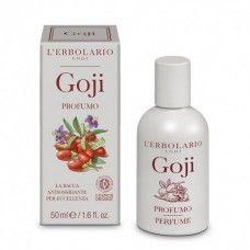 Goji Eau de Parfum goji illattal.  - Rendeld meg online! Parfüm és kozmetikum család az olasz Lerbolario naturkozmetikumoktól