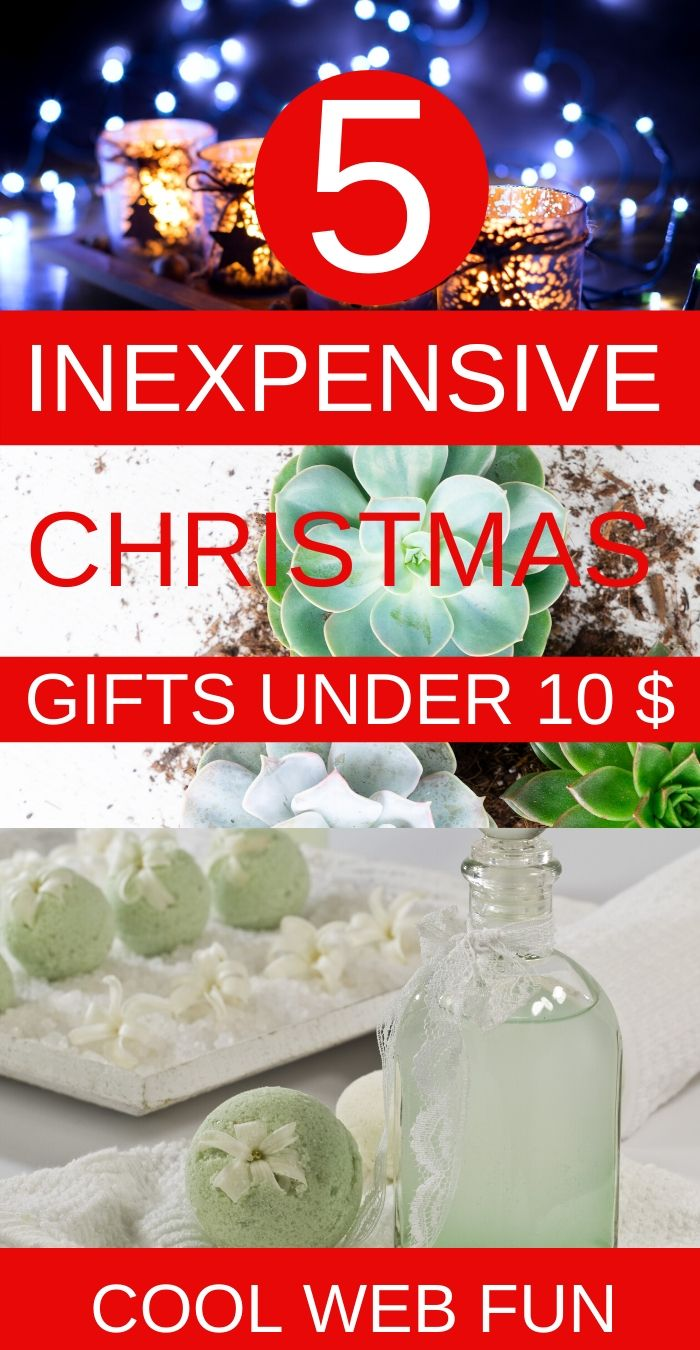 Christmas Food For Coworkers 2020 Under 10 12 Inexpensive Christmas Gifts under 10$   Cool Web Fun in 2020