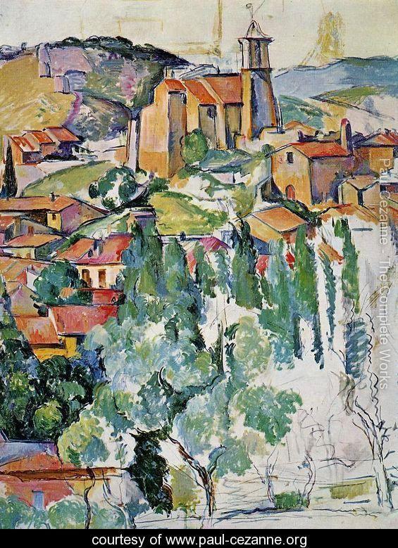 The Village Of Gardanne - Paul Cezanne - www.paul-cezanne.org