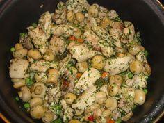 Pui aromat cu ciuperci - Bucataria cu noroc