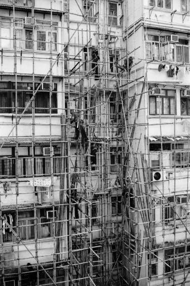 "Saatchi Art Artist Serge Horta; Photography, ""Building a Bamboo Scaffolding II - Limited Edition 1/20"" #art"
