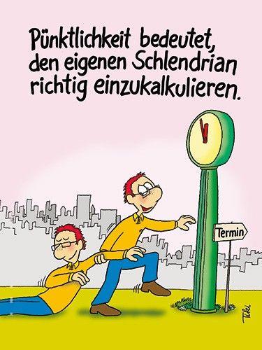 Pünktlichkeit ist wichtig für gute Arbeitsorganisation