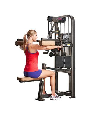 Basic how-to's of some machines at the gym, for women! - Fitnessmagazine.com