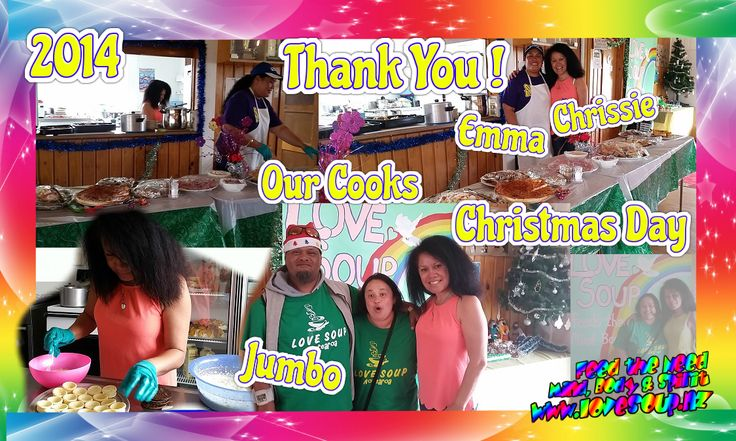 Thank You our cooks today Love Soup #Tokoroa prepared us a brilliant Feast   Joyful like the angels,  Pleasing as a star,  Peaceful like you're a part of heaven,  That's all what you are!  Merry Christmas, my dear friends #Community #Workingtogether #Sharethelove #LovesoupNZ