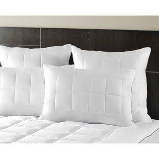 Maison Luxe Ultimate Comfort & Support Luxury Firm Side Sleeper Pillows (Set of 2)   Overstock.com Shopping - The Best Deals on Down Alternative Pillows