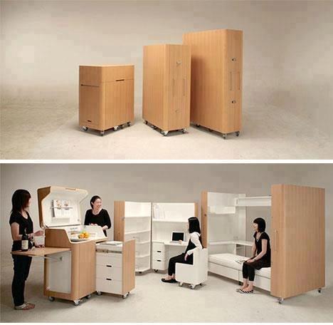 praticidade...uma casa móvel