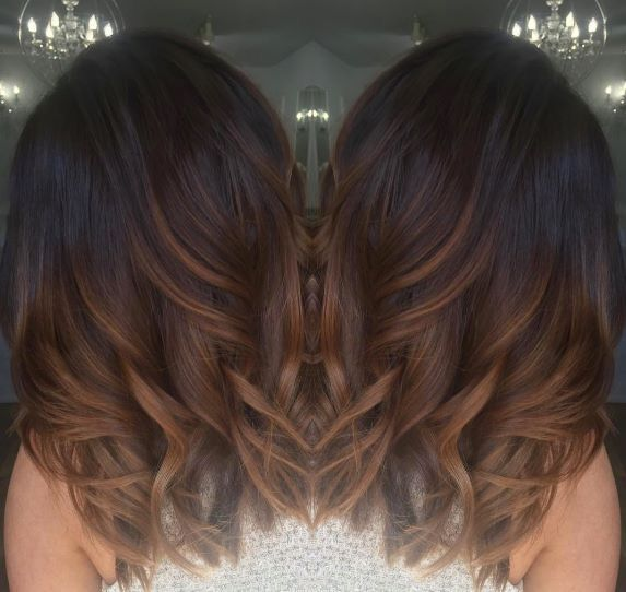 25 trending brown ombre hair ideas on pinterest black hair dark brown with chocolate and caramel ombr hair urmus Image collections