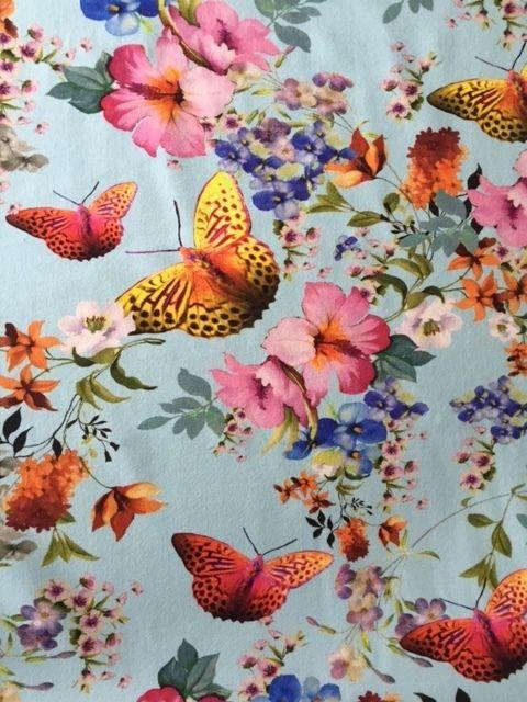 Vlinders blauw