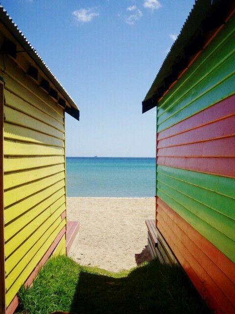 Mount Martha beach huts
