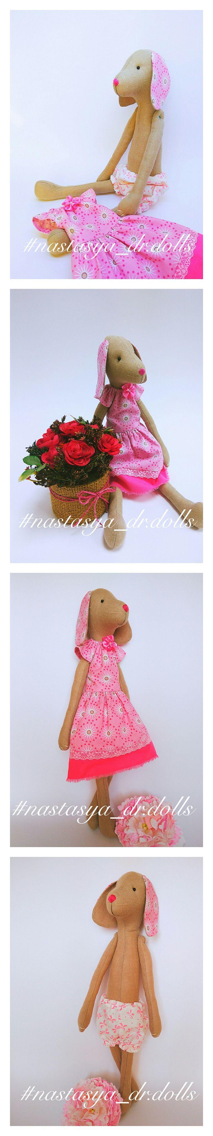Текстильные собачки ручной работы хороший подарок к Новому году!!! Цена 1500р. #тильда #nastasya_dr.dolls #dog