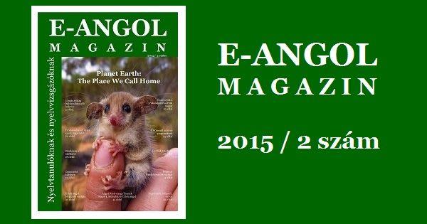 E-Angol Magazin 2015 / 2 letöltés