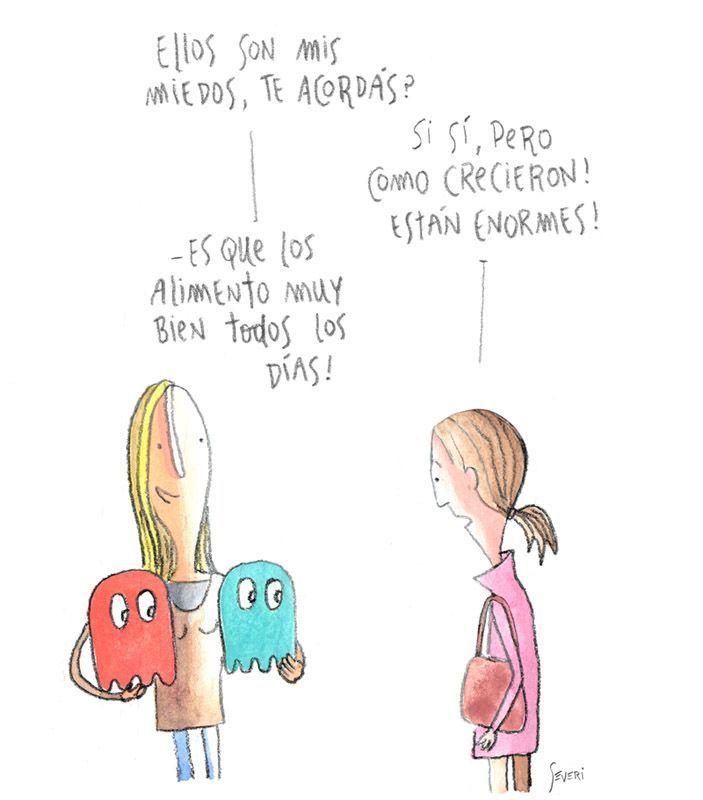 Síndrome coleccionista: Parcialmente soleado. Las viñetas de Severi.: