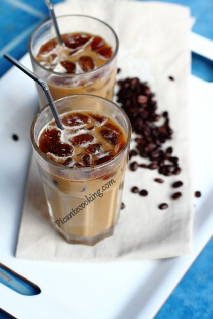 Очень хороший холодный кофе