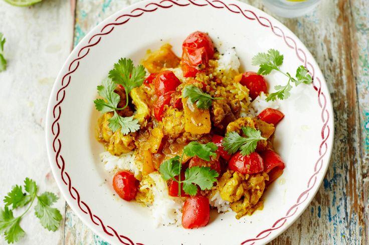 Jamies Zuid-Aziatische kipcurry