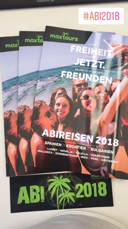 Unser Katalog für Abireisen & Abschlussfahrten 🌴#maxtours #abireise #abifahrt #abschlussfahrt