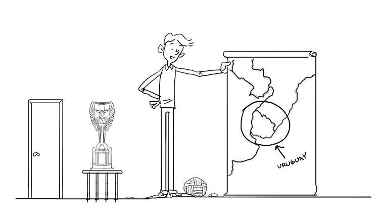 WEEK 1. What is your IMAGE/ABILITY?.  Which statement is true?  1:Uruguayans are the tallest people in Latinoamerica 2:Uruguay is the smallest country in South America 3:Uruguay is the first country to won a Fifa World Cup