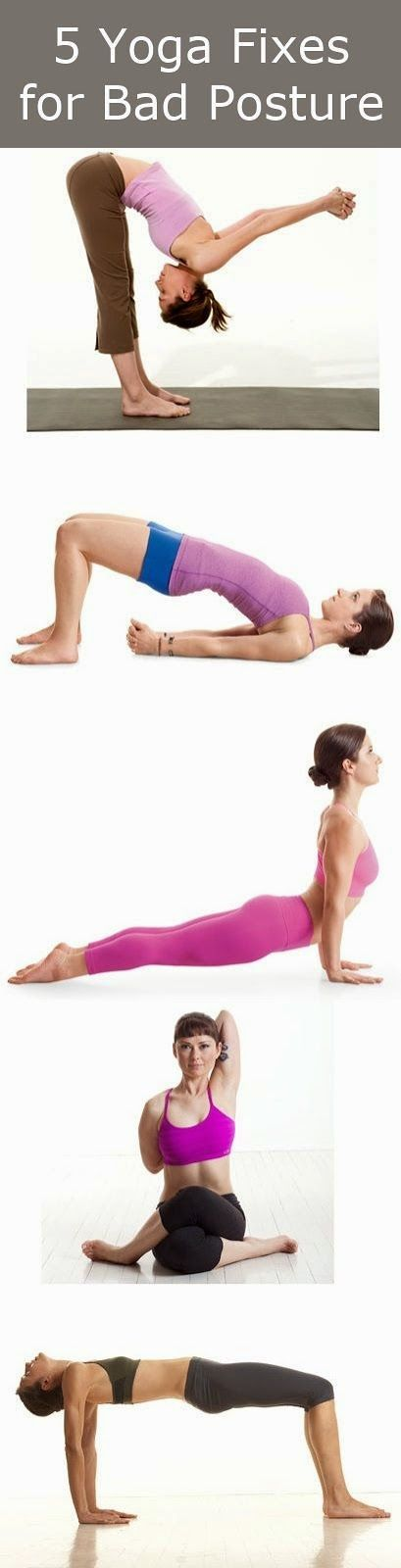 5 Yoga Fixes For Bad Posture | Cute Health