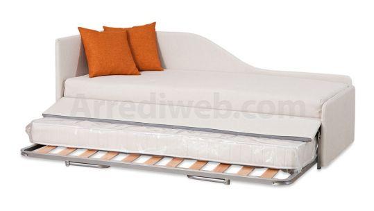 Divano letto con secondo letto estraibile m2070 prodotti - Divani letto artigianali ...