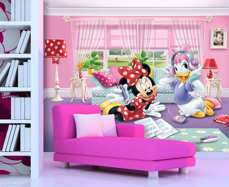 Cutie Minnie Mouse Wallpaper Mural By WallandMore. Part 75