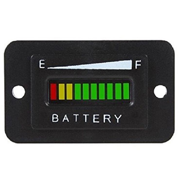48V Volt Battery Indicator Meter Gauge For Ezgo Club Car Yamaha Golf Cart VEN28 P78   #GolfAccessories #GolfCart