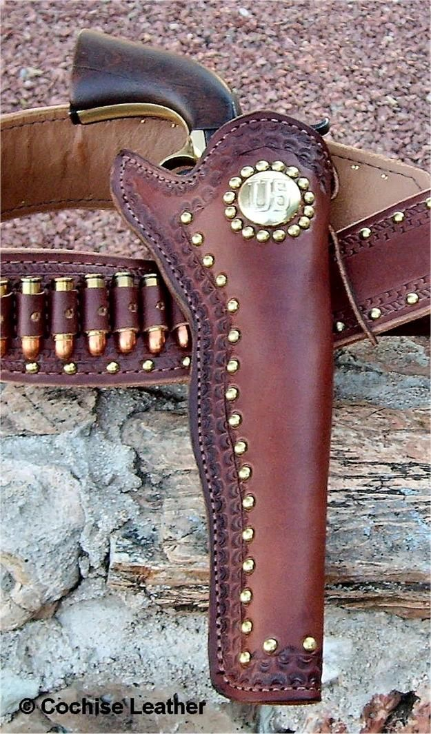 The Scout Slim Jim Leather Gun Holster Made In Usa Gun