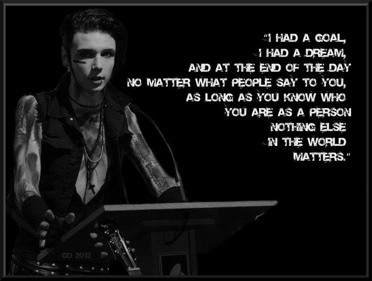 A lot of Black Veil Brides shows have been cancelled due to Andy Biersack's…