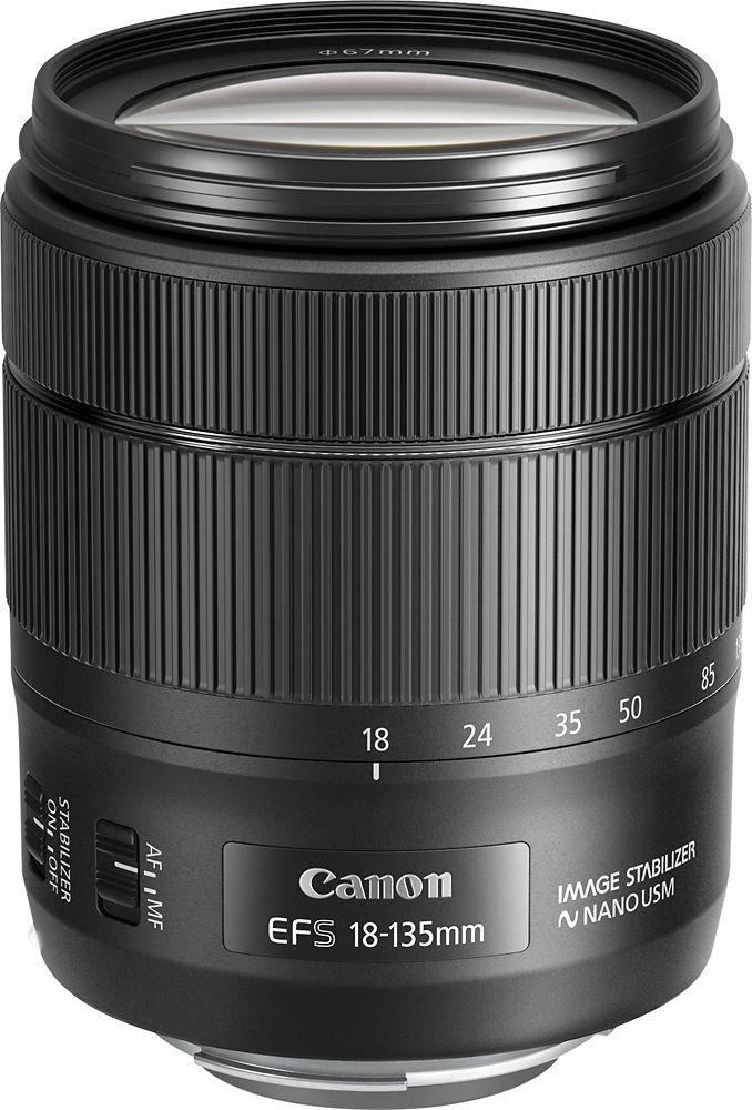 Canon - EF-S 18-135mm 1:3.5-5.6 IS USM Standard Zoom Lens, 1276C002