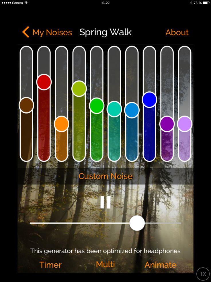 Tapa 116. Metsän ääniä vihreään huoneeseen, eli metsään (myNoise)