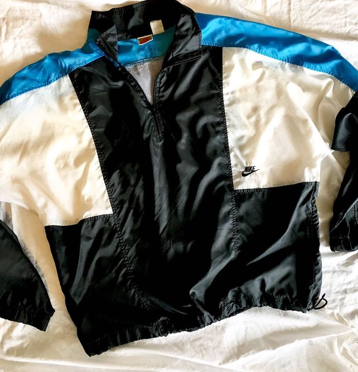 Nike OG RETRO Urban hip hop Track Coat Windbreaker Colorblock Jacket Men's Sz X…  | eBay