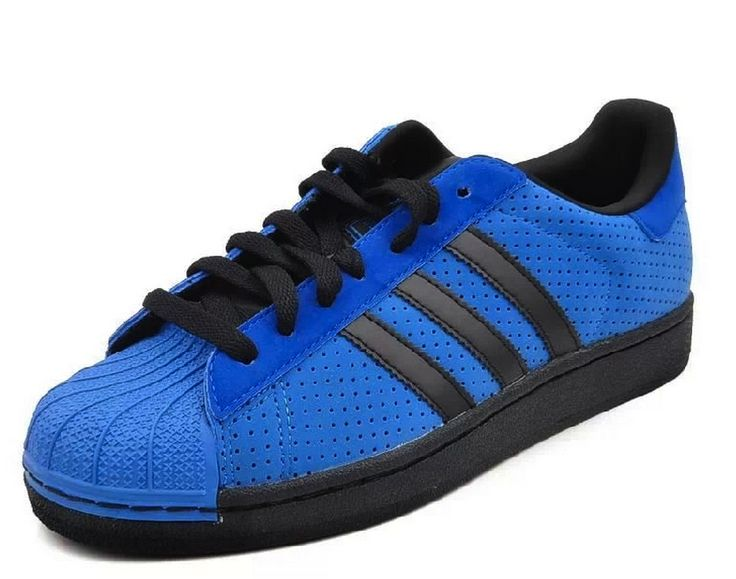 Adidas Originals Superstar II negro azul