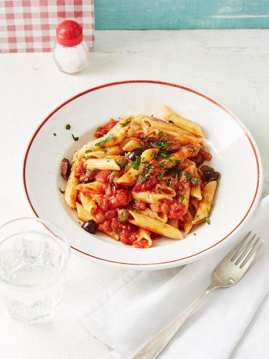 Lecker zu Nudeln: Oliven-Kapern-Sauce