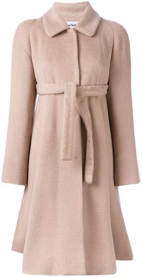 Unique Cacharel belted coat