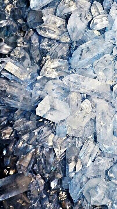 Blue Crystal Wallpapers Backgrounds Images Pictures