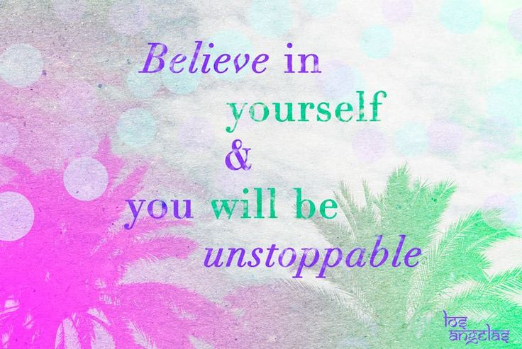 Believe in yourself | motivational  quote