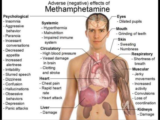 Image result for methamphetamine effects on body jpg