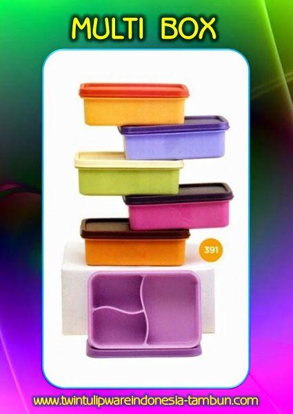 Multi Box | Produk #Tulipware Terbaru 2014