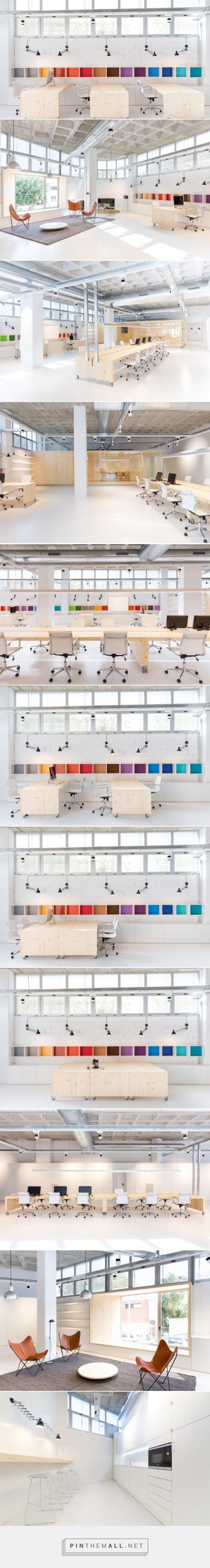 Diseño de las oficinas de pHformula - diariodesign.com                                                                                                                                                                                 Más