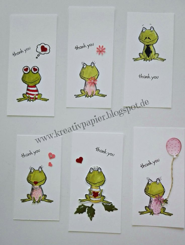 Lots of Love Love you lots Stampin up Frog