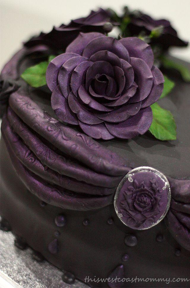 Marvelous Gothic Birthday Cake Gothic Birthday Cakes Unusual Birthday Birthday Cards Printable Inklcafe Filternl
