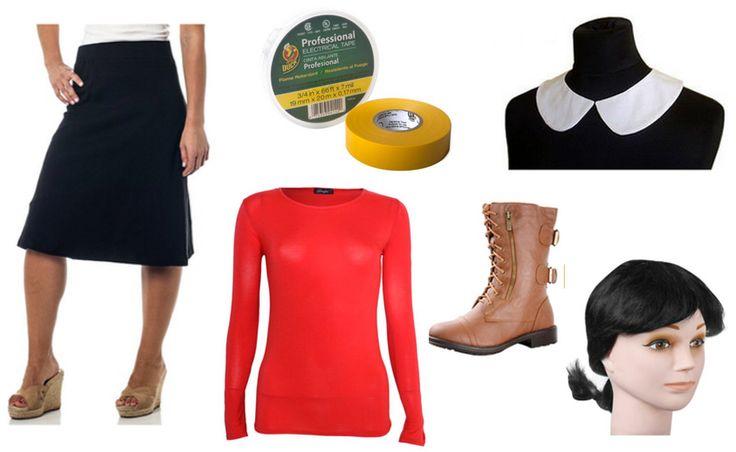 die besten 25 olive oyl costume ideen auf pinterest popeye und olive kost me f r p archen. Black Bedroom Furniture Sets. Home Design Ideas