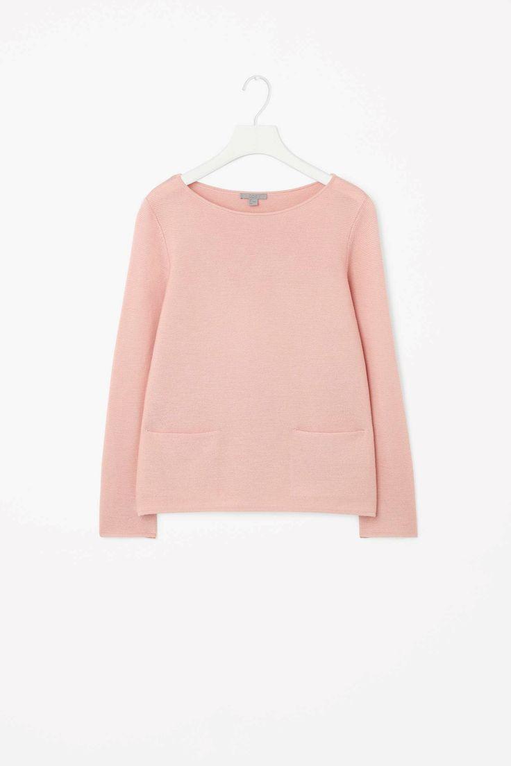 A-line wool jumper