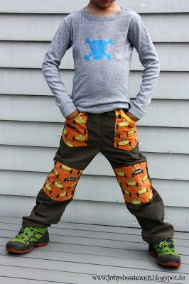 MIX & MORITZ mit Knieflicken und aufgesetzten Taschen