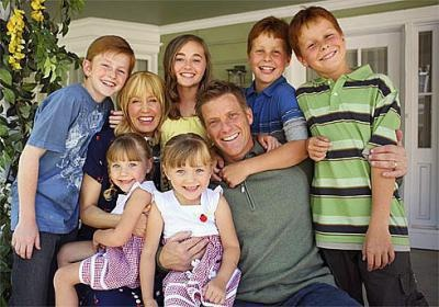 Desperate Housewives:  The Scavo family.....With Both Penny's lol
